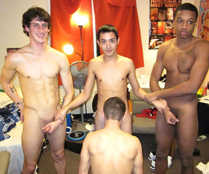 College Guys Exposed tube